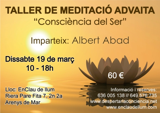 cartel-meditacio-advaita CATALÀ